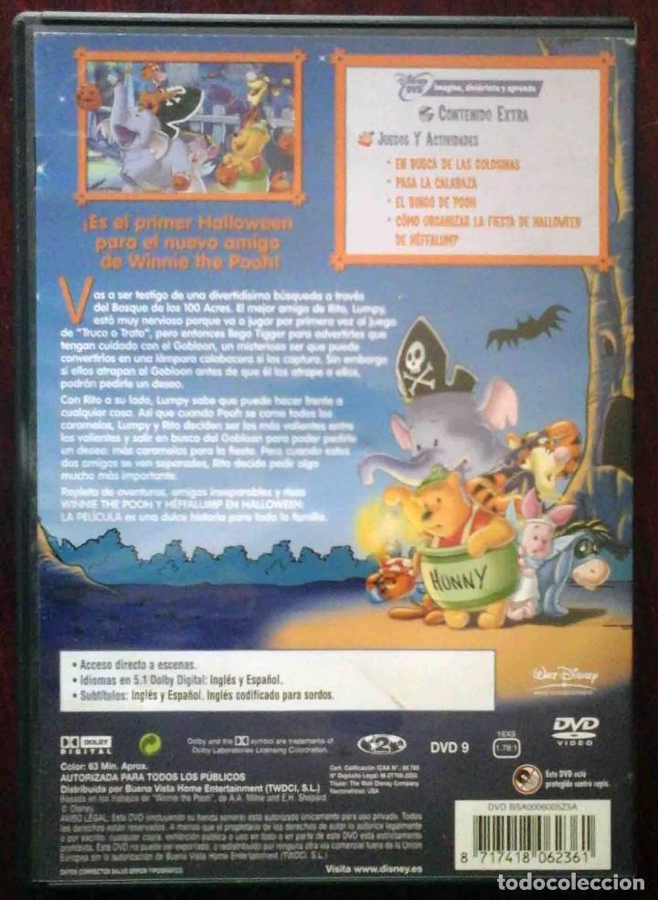 Cine: TODODVD: Winnie the pooh y Heffalump en halloween (Saul Blinkoff y Elliot M. Bour) - Foto 2 - 206839435