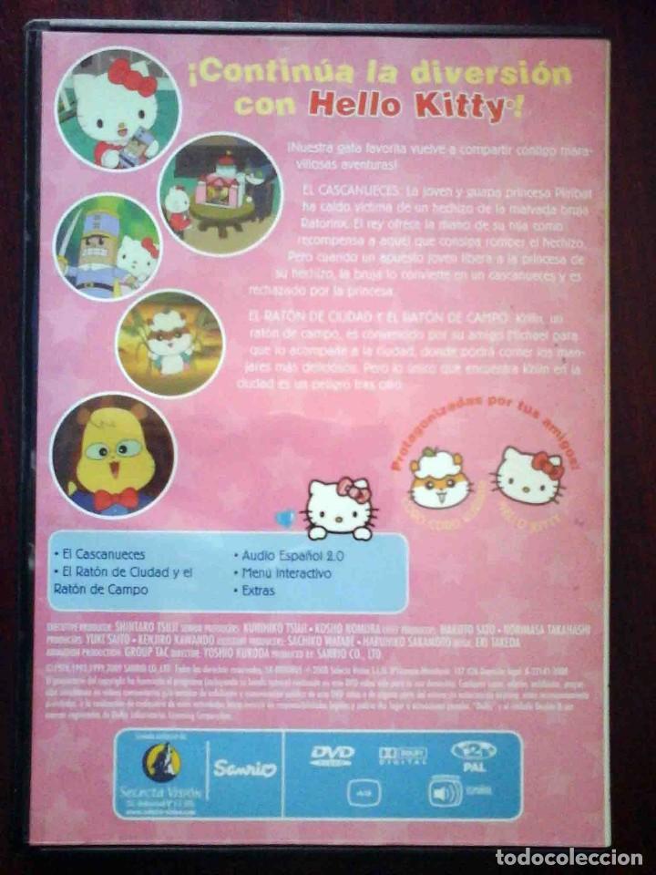 Cine: TODODVD: Hello Kitty y sus amigos Nº 3 El cascanueces / El ratón de ciudad y el ratón de campo - Foto 2 - 206839463