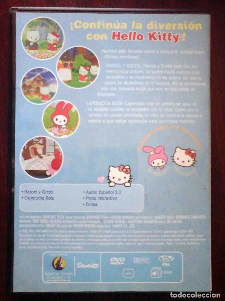Cine: TODODVD: Hello Kitty y sus amigos Nº 5 Hansel y Gretel / Caperucita Roja. - Foto 2 - 206839476