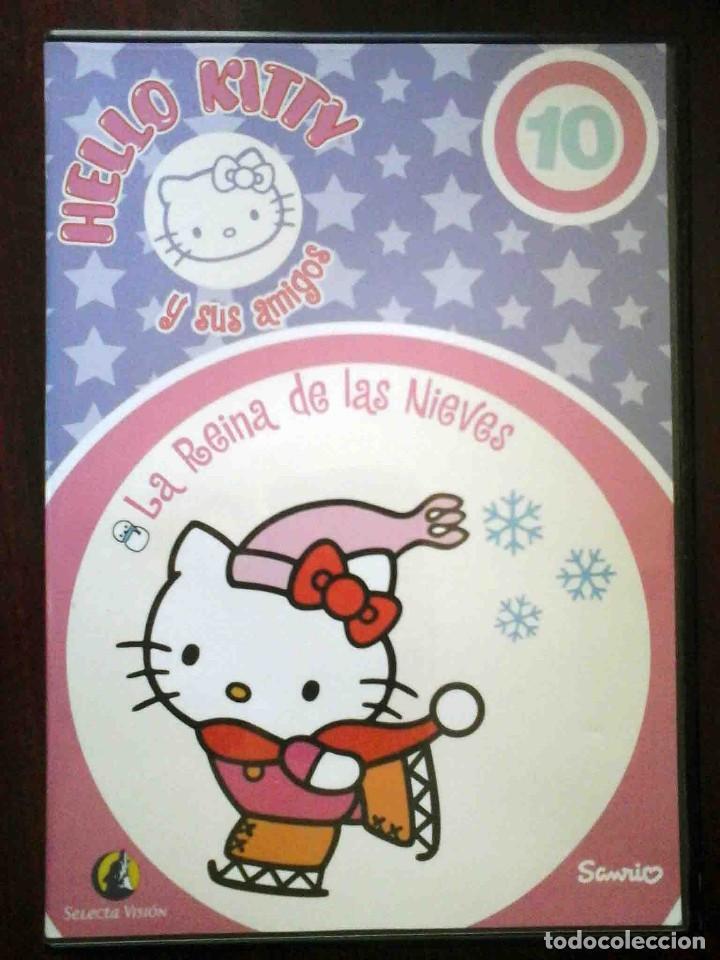 TODODVD: HELLO KITTY Y SUS AMIGOS Nº 10 LA REINA DE LAS NIEVES / LOS TRES CERDITOS. (Cine - Películas - DVD)