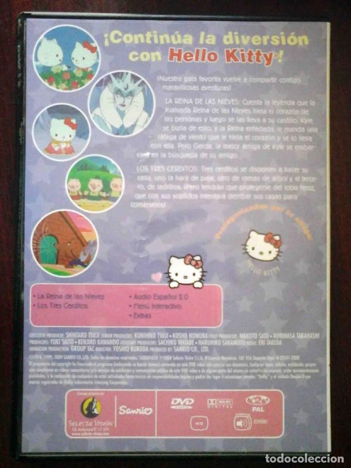 Cine: TODODVD: Hello Kitty y sus amigos Nº 10 La Reina de las Nieves / Los tres cerditos. - Foto 2 - 206839481