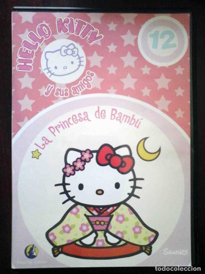 TODODVD: HELLO KITTY Y SUS AMIGOS Nº 12 LA PRINCESA DE BAMBÚ / EL TRAJE NUEVO DEL EMPERADOR. (Cine - Películas - DVD)
