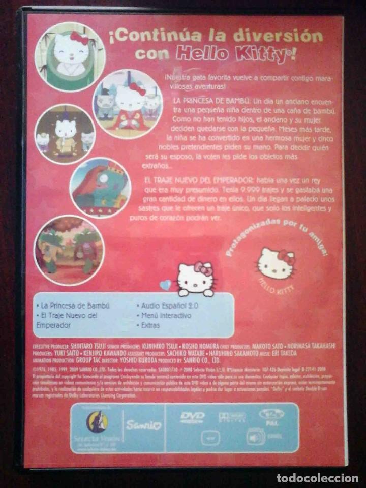 Cine: TODODVD: Hello Kitty y sus amigos Nº 12 La Princesa de Bambú / El traje nuevo del emperador. - Foto 2 - 206839482