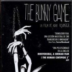 Cine: THE BUNNY GAME DVD (MAYORES 18 AÑOS) - LAS CRUELES HUMILLACIONES A UNA PROSTITUTA...MUY FUERTE.. Lote 296919933