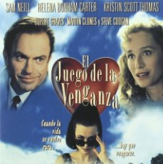 Cine: EL JUEGO DE LA VENGANZA (SAM NEILL, HELENA BONHAM CARTER) - DVD NUEVO Y PRECINTADO. Lote 222544608