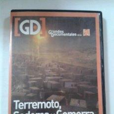 Cine: TERREMOTO, SODOMA Y GOMORRA, GRANDES DOCUMENTALES. Lote 206887560
