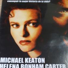 Cine: FUEGO SOBRE BAGDAG MICHAEL KEATON HELENA BONHAM CARTER 435. Lote 206937641