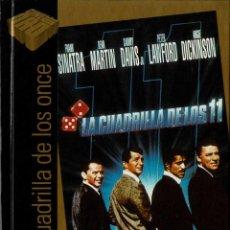 Cine: LA CUADRILLA DE LOS 11. LIBRO + DVD. Lote 207045457