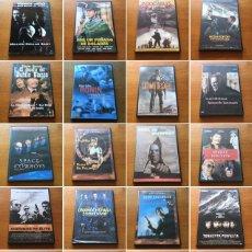 Cine: ¡COLECCIÓN DE 150 PELÍCULAS DE ACCIÓN GRABADAS EN DVD!. Lote 207045783