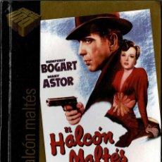 Cine: EL HALCÓN MALTÉS. LIBRO + DVD. Lote 207045858