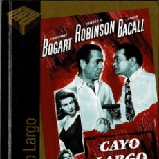 Cine: CAYO LARGO. LIBRO + DVD. Lote 207045955