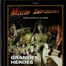Cine: MISIÓN IMPOSIBLE. LAWRENCE DE ARABIA. LOS GUERREROS DE LA JUNGLA. LIBRO + DVD. Lote 207046500
