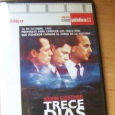 Cine: TRECE DÍAS, PELICULA DVD DE ROGER DONALDSON. Lote 207046548