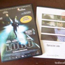 Cine: EL LOBO, MIGUEL COURTOIS, CON EDUARDO NORIEGA Y JOSE CORONADO. PELICULA + DOCUMENTAL. Lote 207046627