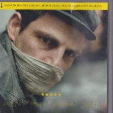 Cine: EL HIJO DE SAÚL [DVD]. Lote 207064560