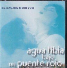 Cine: AGUA TIBIA BAJO UN PUENTE ROJO [DVD] - NUEVO Y PRECINTADO. Lote 207064796