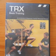Cine: DVD TRX - BASIC TRAINING - VIDEO + WORKOUT GUIDE - EN INGLES (A4). Lote 207069835
