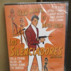 Cine: DVD - LOS SILENCIADORES - DEAN MARTIN - PEDIDO MINIMO DE 10€. Lote 207074472