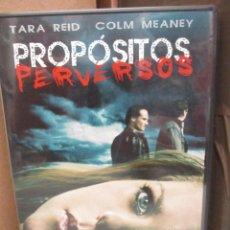 Cine: DVD - PROPOSITOS PERVERSOS / TARA REID - PEDIDO MINIMO DE 10€. Lote 207076008