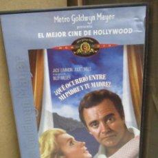 Cine: DVD - ¿QUE OCURRIO ENTRE TU PADRE Y MI MADRE ? / BILLY WILDER - PEDIDO MINIMO DE 10€. Lote 207104781