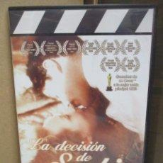 Cine: DVD - LA DECISION DE SOPHIE - PEDIDO MINIMO DE 10€. Lote 207104893
