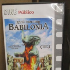 Cine: DVD - GOOD MORNING BABILONIA - PEDIDO MINIMO DE 10€. Lote 207105021