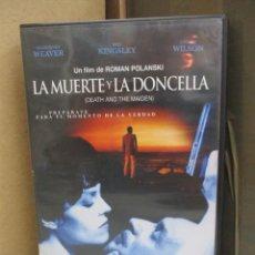 Cine: DVD - LA MUERTE Y LA DONCELLA / ROMAN POLANSKI - PEDIDO MINIMO DE 10€. Lote 207106917