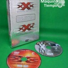 Cine: PACK 2 DVDS: TRIPLE XXX EDICIÓN ESPECIAL Y TRIPLE XXX 2 ESTADO DE EMERGENCIA. ESPECIAL COLECCIONISTA. Lote 207134006