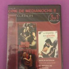 Cine: DVD - PRECINTADO - BERLIN INTERIOR - EL IMPERIO DE LA PASION - GIRL PLAY. Lote 207140562