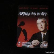 Cine: ANATOMIA DE UN ASESINATO - EN CAJA METALICA - DVD CASI COMO NUEVO. Lote 207140622