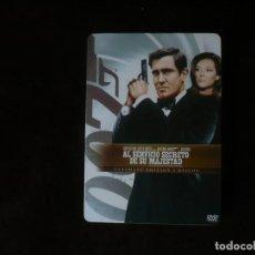 Cine: AL SERVICIO SECRETO DE SU MAJESTAD - EDICION 2 DISCOS EN CAJA METALICA - DVD CASI COMO NUEVOS. Lote 207140728