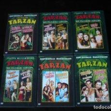 Cine: COLECCION TARZAN COMPLETA 12 PELICULAS - DVD CASI COMO NUEVOS. Lote 207141135