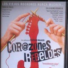 Cine: DVD CORAZONES REBELDES.. Lote 207143716