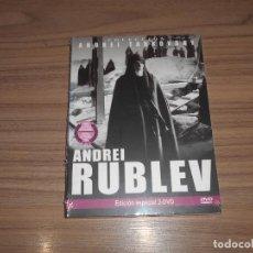 Cinema: ANDREI RUBLEV EDICION ESPECIAL 2 DVD DE ANDREI TARKOVSKI NUEVA PRECINTADA. Lote 207165045