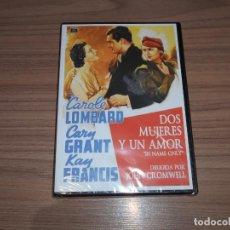 Cine: DOS MUJERES Y UN AMOR DVD CAROLE LOMBARD CARY GRANT NUEVA PRECINTADA. Lote 207205527