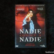 Cine: NADIE CONOCE A NADIE - DVD CASI COMO NUEVO. Lote 293975998