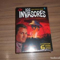 Cine: LOS INVASORES TEMPORADA 1 COMPLETA 6 DVD + LIBRO 60 PAGS. NUEVA PRECINTADA. Lote 207234107