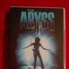 Cine: DVD ABYSS - JAMES CAMERON - ED HARRIS. Lote 207237206