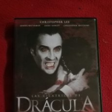 Cine: DVD LAS CICATRICES DE DRÁCULA - CHRISTOPHER LEE - ROY WARD BAKER. Lote 207239037