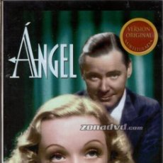 Cine: ANGEL DVD (MARLENE DIETRICH) -ELLA LO TENIA TODO...MENOS LA ATENCIÓN DE SU MARIDO. Lote 207255298