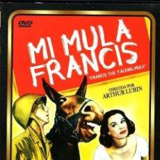 Cine: MI MULA FRANCIS DVD - (D. O`CONNOR) LA MAS DESTERNILLANTE PELÍCULA DE TEMA BÉLICO. Lote 207255758