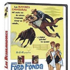 Cine: LOS DESBRAVADORES GLENN FORD, HENRY FONDA, THE ROUNDERS OESTE WESTERN ESTÁ PARA RECOGER EN MURCIA. Lote 207258260