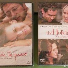 Cine: LOTE 2 DVD POSTDATA TE QUIERO / HOLIDAY NUEVAS CINE ROMANTICO + 5€ ENVIO C.N. Lote 207285395