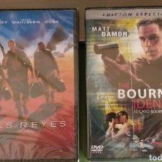 Cine: LOTE 2 DVD CASO BOURNE / TRES REYES CINE ACCION NUEVAS + 5€ ENVIO C.N. Lote 207285667