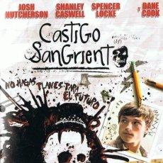 Cine: CASTIGO SANGRIENTO JOSH HUTCHERSON. Lote 207320536