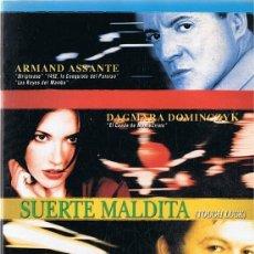 Cine: SUERTE MALDITA ARMAND ASSANTE. Lote 207320867