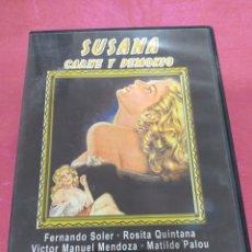 Cine: DVD SUSANA CARNE Y DEMONIO DE BUÑUEL. Lote 207332242