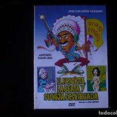 Cine: EL FASCISTA LA BEATA Y SU HIJA DESVIRGADA - DVD COMO NUEVO. Lote 207332443