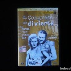 Cine: EL CONGRESO SE DIVIERTE - ORIGENES DEL CINE - DVD COMO NUEVO. Lote 207332543