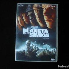 Cine: EL PLANETA DE LOS SIMIOS - PLANET OF THE APES - DVD COMO NUEVO. Lote 207333048